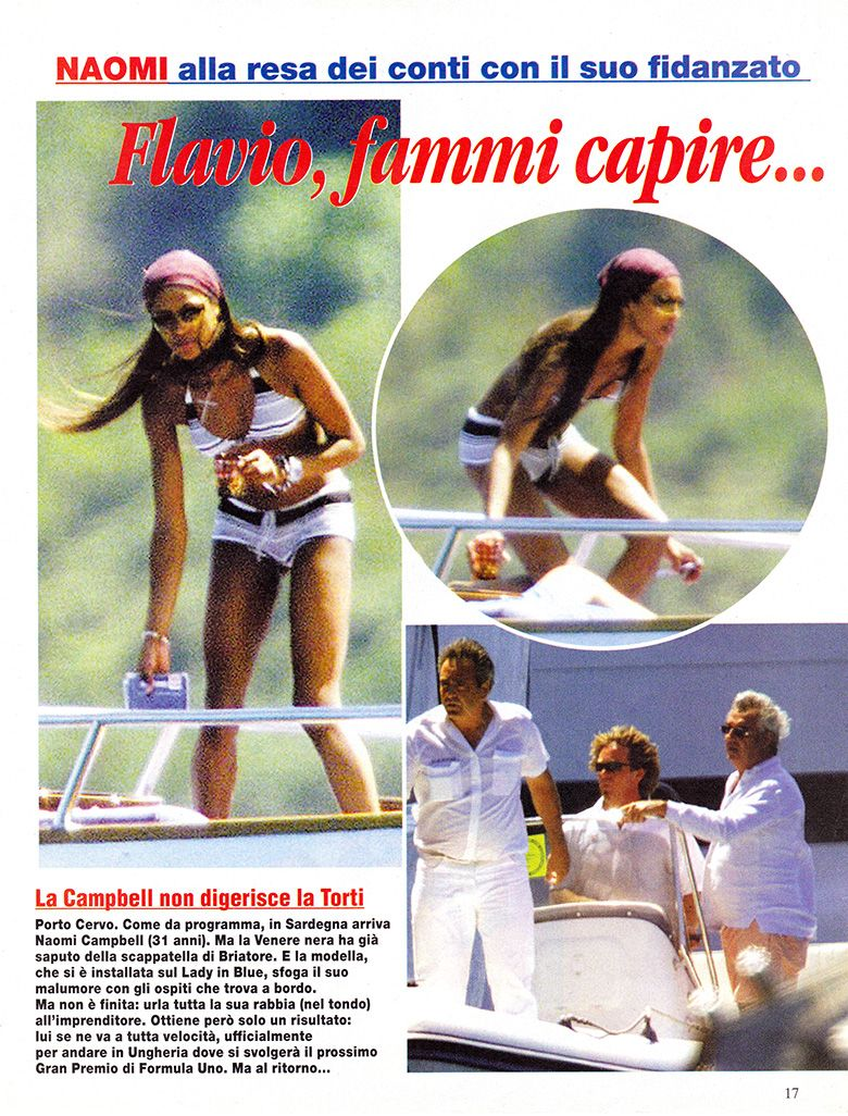 Naomi Campbell 2000