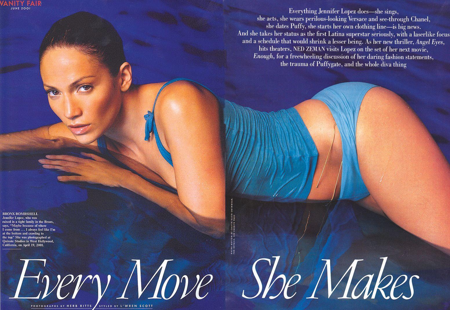 Vanity Fair - Jennifer Lopez 2001