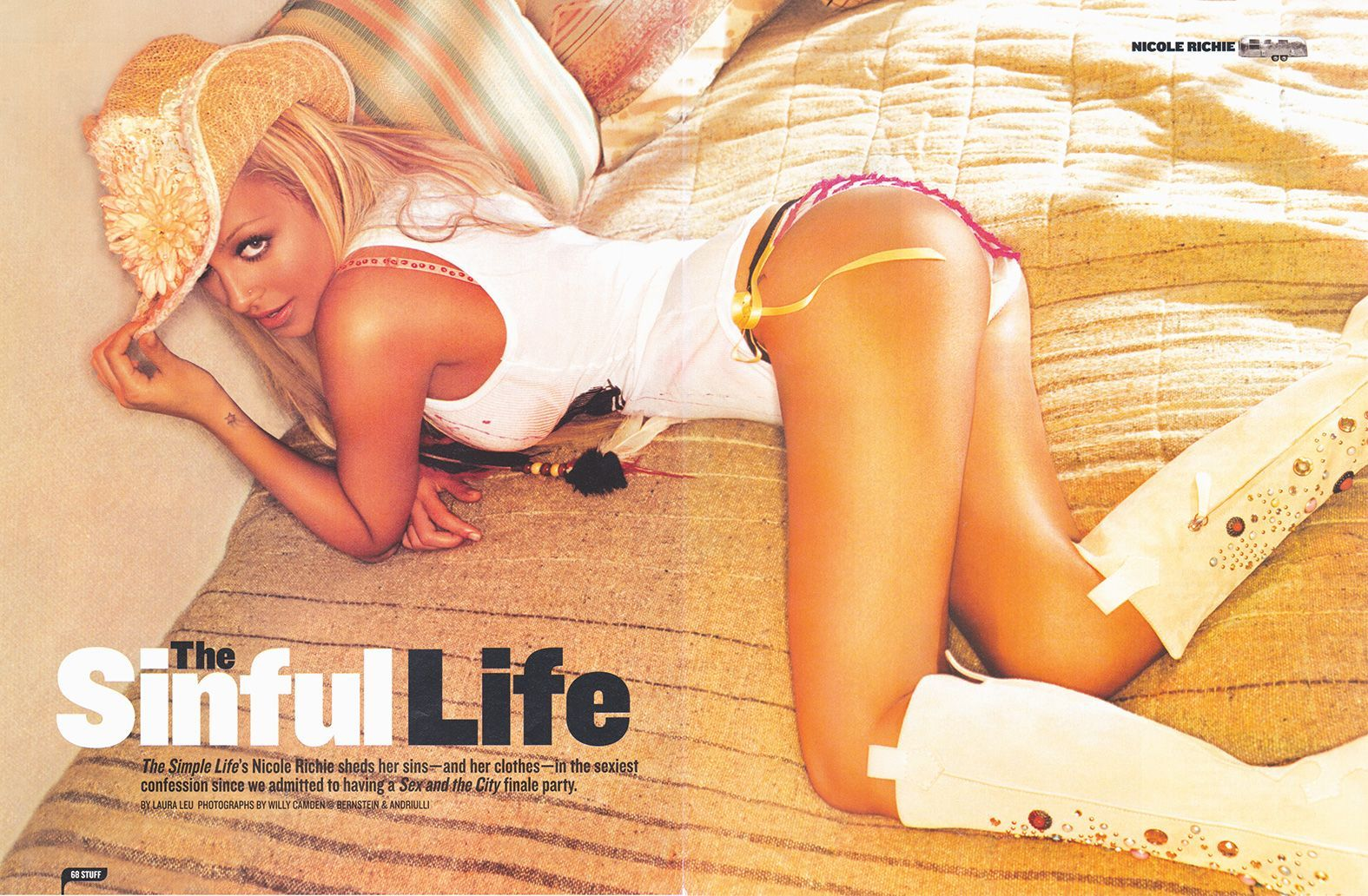 GQ - Nicole Richie 2005